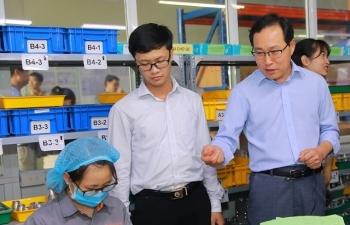 """Tổng Giám đốc Samsung: """"Tôi đánh giá cao tiềm năng phát triển DN phụ trợ Việt"""""""