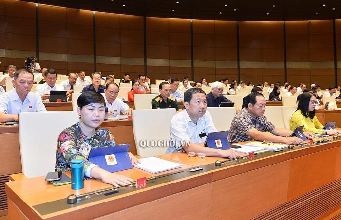 Quốc hội thông qua Nghị quyết về xóa bỏ lao động cưỡng bức