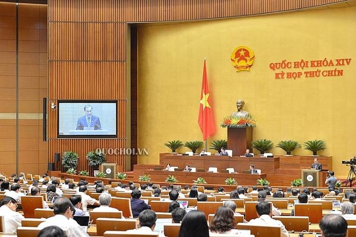 Quốc hội thảo luận về miễn nhiệm chức vụ Phó Thủ tướng Vương Đình Huệ