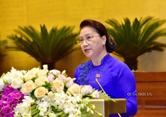 Bế mạc Kỳ họp thứ 9, Quốc hội XIV