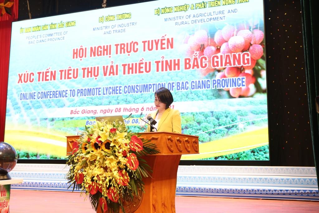 VinCommerce cam kết thu mua 2.000 tấn vải thiều Bắc Giang