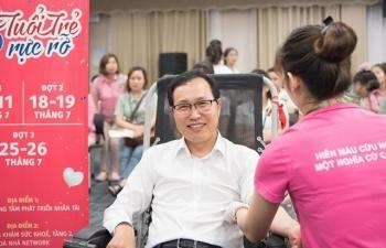 Samsung Việt Nam kỳ vọng góp thêm 17.000 đơn vị máu