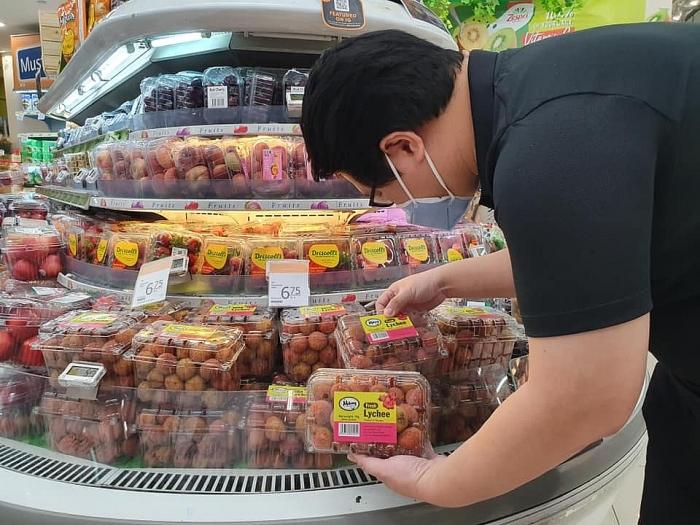 Vải thiều Việt Nam lần đầu xuất khẩu sang Singapore