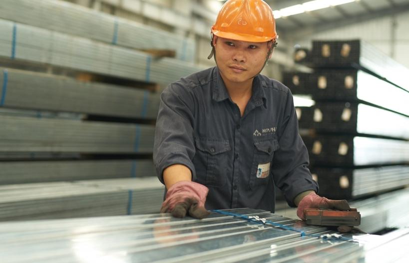 Xuất khẩu ống thép Hòa Phát tăng gần gấp đôi trong 6 tháng
