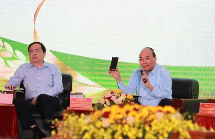 Thủ tướng trực tiếp đối thoại về phát triển nông nghiệp bền vững