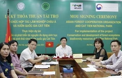 Hàn Quốc tài trợ hơn 1,2 triệu USD phát triển Vườn Quốc gia Cát Tiên