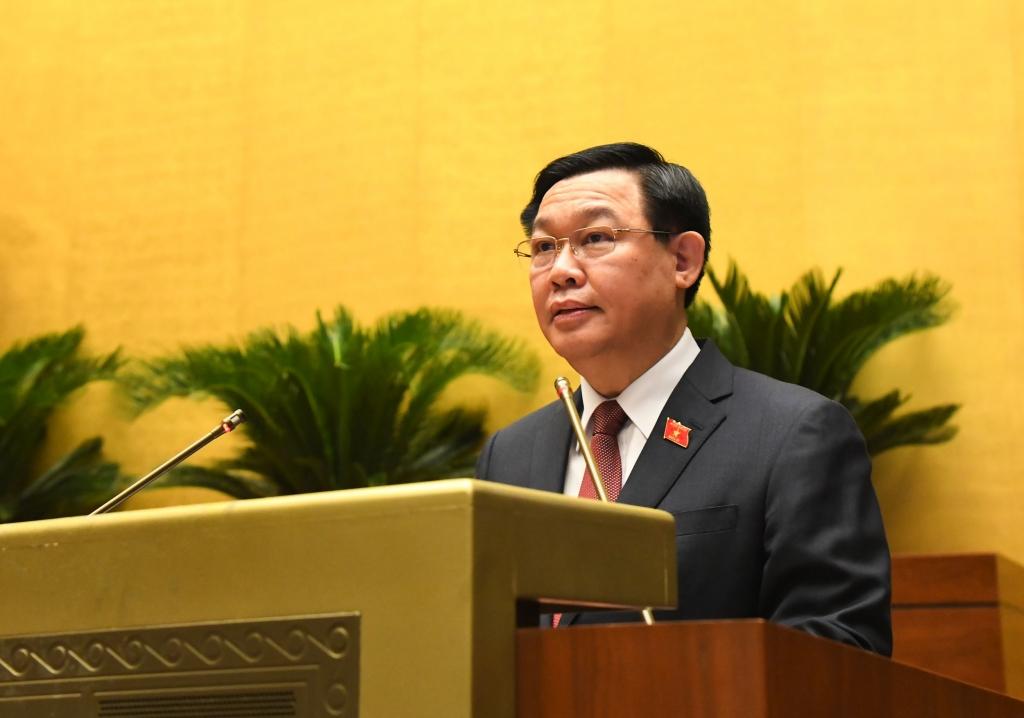 Chủ tịch Quốc hội: Đất nước đang đứng trước những thách thức chưa có tiền lệ