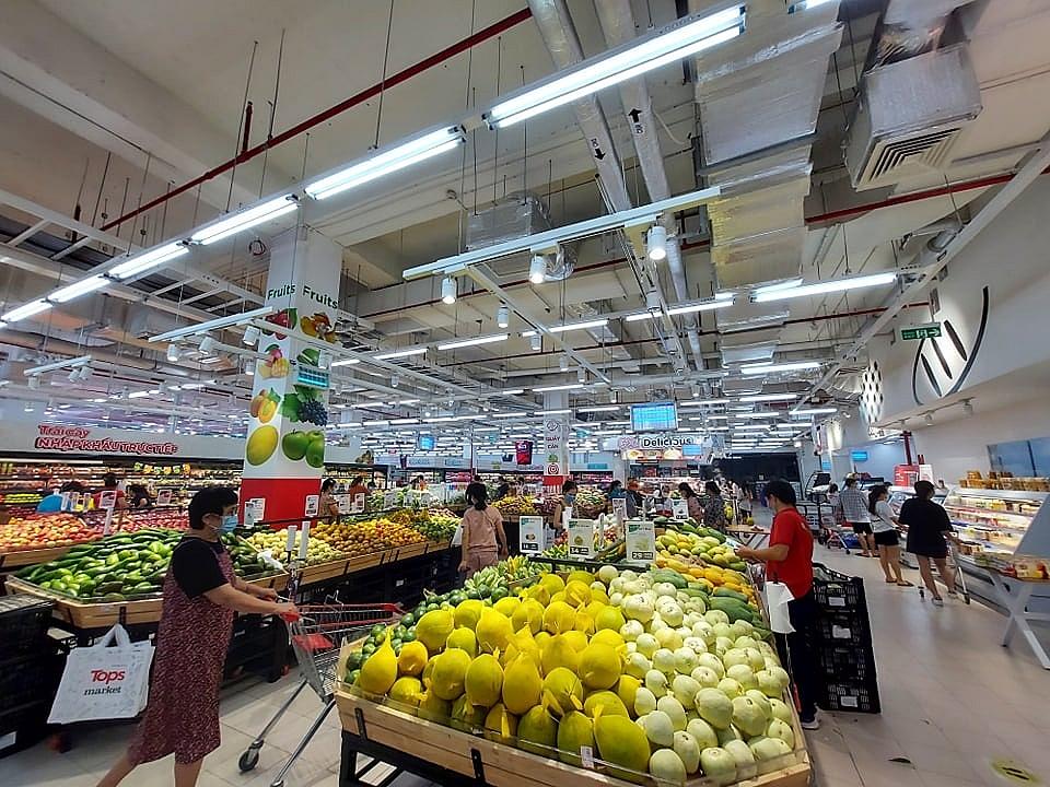 siêu thị Go! Market (Nguyễn Xiển, Thanh Trì, Hà Nội) . Ảnh: Nguyễn Thanh