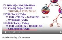 bo cong thuong canh bao jeunesse kinh doanh da cap trai phep