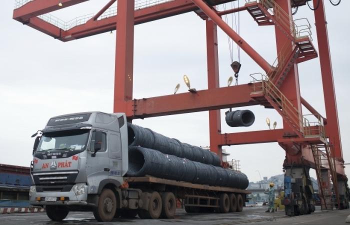 Thép Hòa Phát lần đầu xuất khẩu đi châu Phi
