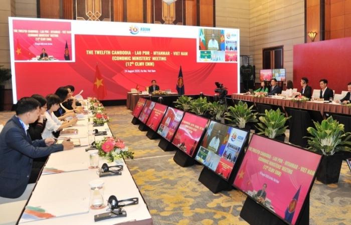 Thông qua hợp tác kinh tế Campuchia-Lào-Myanmar-Việt Nam 2021-2022