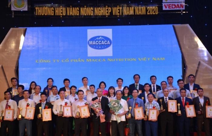 Tôn vinh 80 thương hiệu vàng nông nghiệp Việt Nam 2020