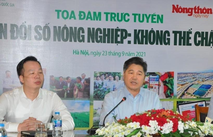 """Chuyển đổi số là """"thang thuốc"""" thay đổi cơ bản hoạt động nông nghiệp Việt"""