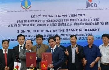 Jica viện trợ Việt Nam 10,9 triệu USD đảm bảo an toàn thực phẩm