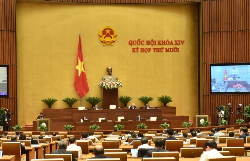 Quốc hội nghe trình dự án Luật Phòng, chống ma túy và Luật Giao thông đường bộ