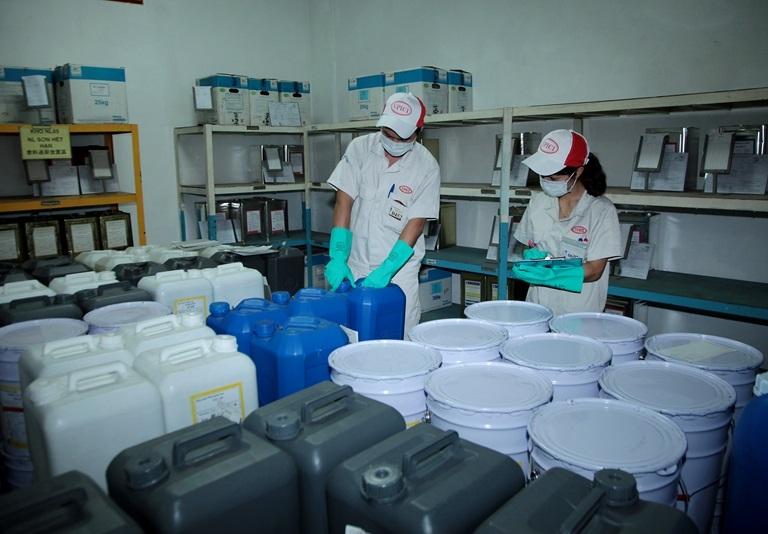Xuất khẩu hoá chất tăng mạnh sau khi giảm liên tiếp 2 năm
