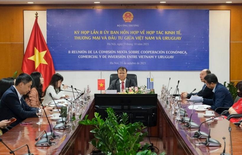 Việt Nam-Uruguay hợp tác trong lĩnh vực hải quan, khoa học công nghệ