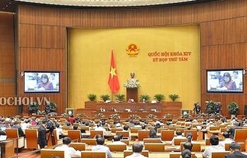 Quốc hội liên tiếp thông qua 3 dự án luật quan trọng