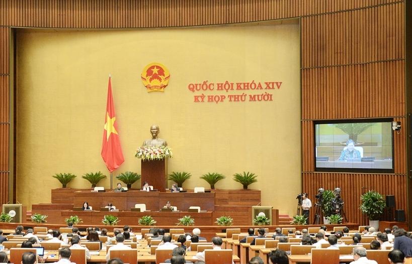 Quốc hội thảo luận về Luật Giao thông đường bộ (sửa đổi)
