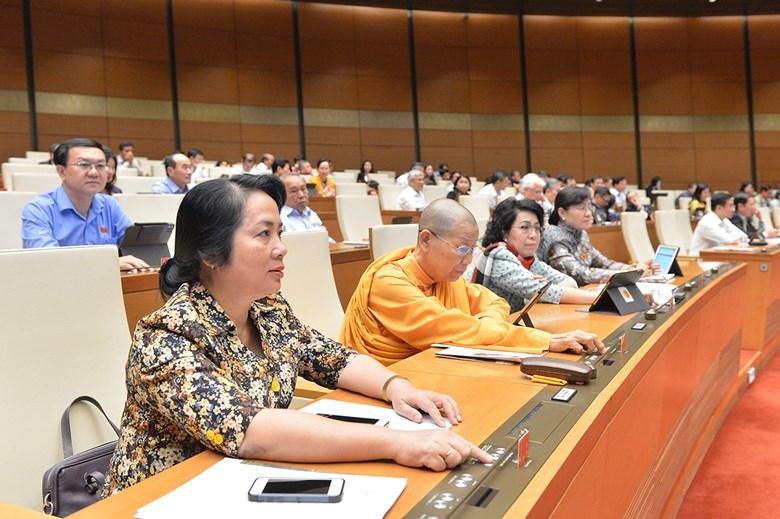 Quốc hội biểu quyết thông qua Nghị quyết về tham gia lực lượng gìn giữ hòa bình của Liên hợp quốc