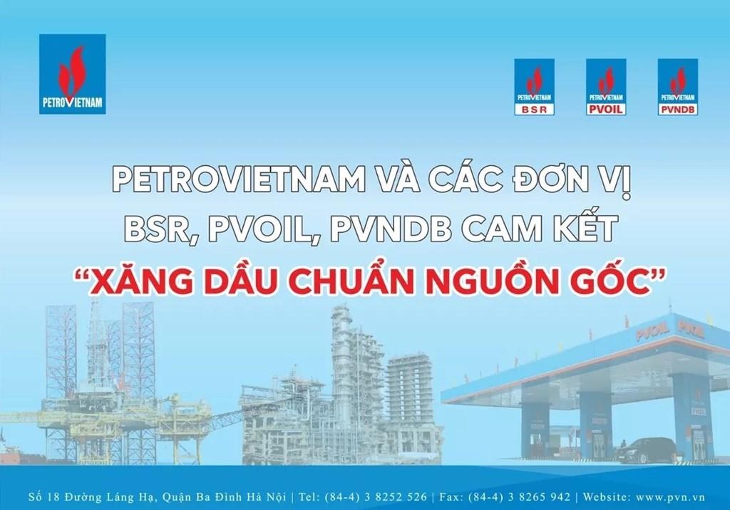 Petrovietnam tiên phong trong kiểm soát chất lượng sản phẩm xăng dầu