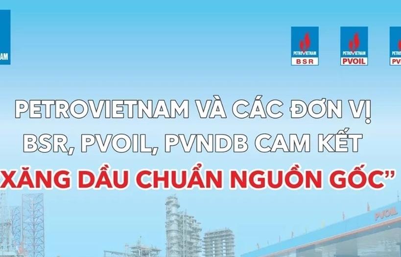 Petrovietnam quản lý chặt chất lượng sản phẩm xăng dầu