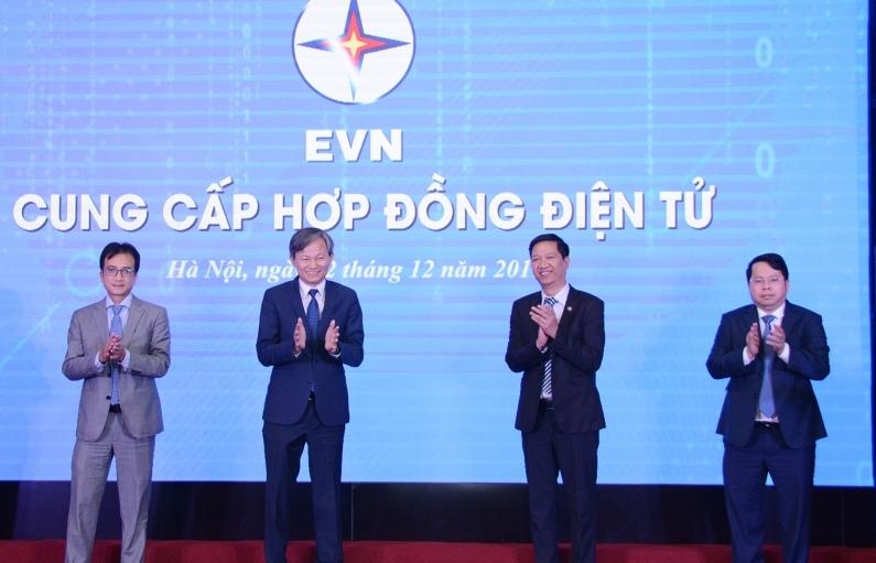 EVN chính thức cung cấp hợp đồng điện tử