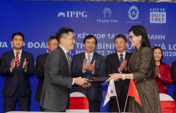 """IPPG """"bắt tay"""" Lotte, sẽ có cửa hàng miễn thuế dưới phố đầu tiên tại Hà Nội"""