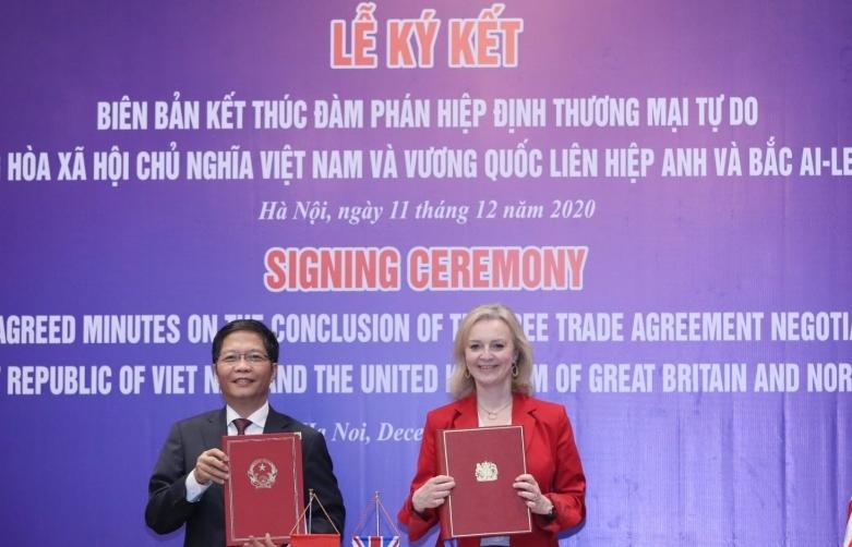 Hiệp định UKVFTA chính thức có hiệu lực từ 23h ngày 31/12