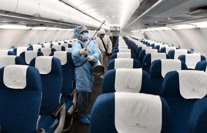 Vietnam Airlines siết chặt phòng chống dịch trong dịp cao điểm tết Nguyên đán