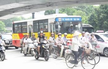 Những tuyến phố dự kiến cấm xe máy ở Hà Nội