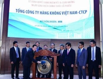 1,4 tỷ cổ phiếu của Vietnam Airlines đã lên sàn HOSE