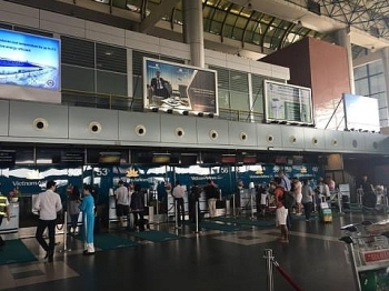 Dịp lễ 30/4 và 1/5, sân bay Nội Bài đón hơn 180 lượt chuyến bay