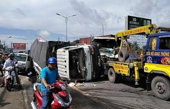 4 ngày nghỉ lễ, gia tăng số vụ tai nạn giao thông