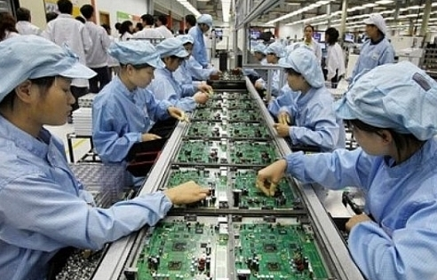 Chỉ số sản xuất công nghiệp tháng 4 tăng hơn 24%