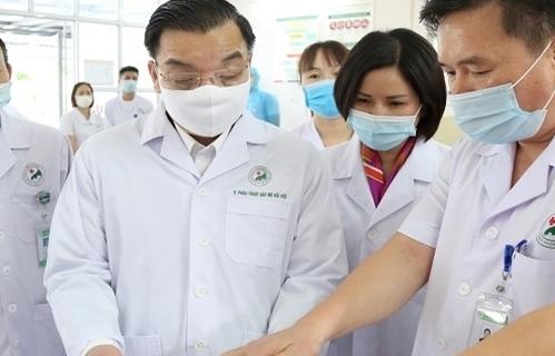 Chủ tịch UBND TP Hà Nội làm trưởng Ban Chỉ đạo công tác phòng, chống dịch bệnh Covid-19 TP Hà Nội
