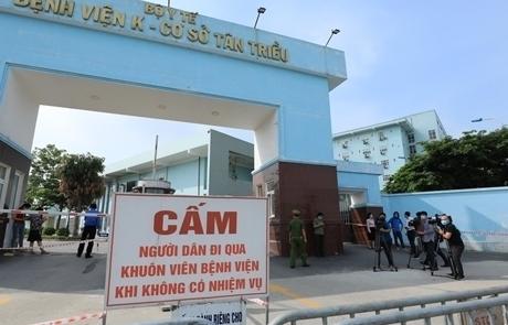 Hỗ trợ, xét nghiệm cho 2.000 cán bộ, y bác sỹ, bệnh nhân và người nhà bệnh nhân tại Bệnh viện K cơ sở Tân Triều