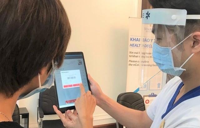 Hà Nội mở rộng đối tượng yêu cầu khai báo y tế điện tử