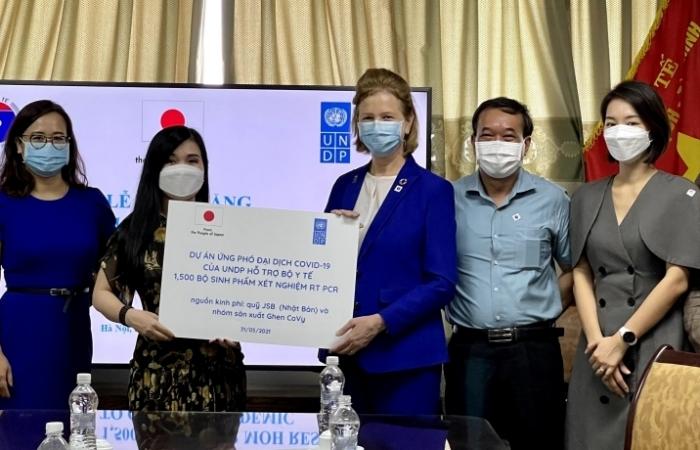 UBND hỗ trợ Bộ Y tế hơn 1.500 bộ xét nghiệm RT PCR cho các điểm bùng phát dịch