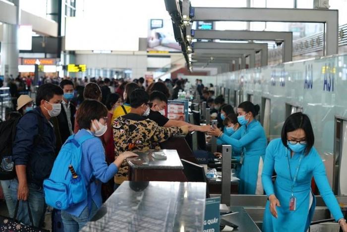 Sân bay Nội Bài khôi phục hoàn toàn khai thác bay nội địa