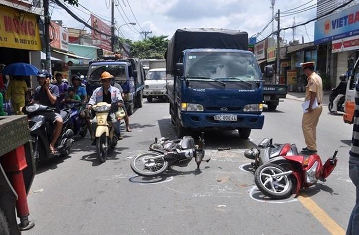 Đã xảy ra gần 6.800 vụ tai nạn giao thông trong 6 tháng đầu năm