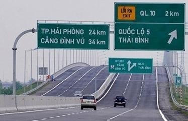 Từ 11/8, triển khai thu phí không dừng tại cao tốc Hà Nội - Hải Phòng