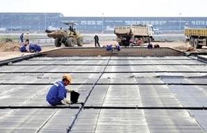 Đẩy nhanh tiến độ thi công nâng cấp đường băng sân bay Nội Bài