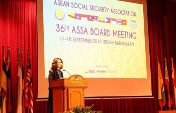 Khai mạc Hội nghị Ban chấp hành Hiệp hội An sinh xã hội ASEAN 36