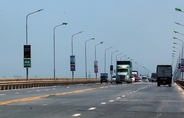 Việc sửa chữa cầu Thăng Long đang được triển khai như thế nào?