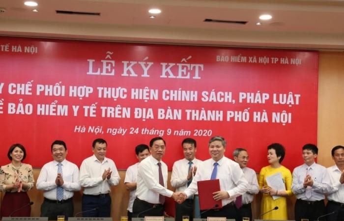 Tăng cường phối hợp thực hiện chế độ BHYT trên địa bàn Hà Nội