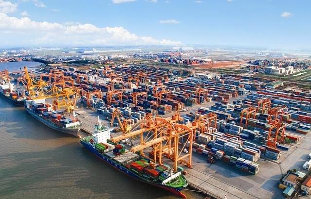 Đầu tư hơn 600 tỷ đồng đường nối các bến tại cảng Lạch Huyện