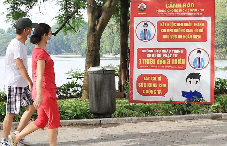 Từ ngày 28/9, người dân Hà Nội được tập thể dục, thể thao ngoài trời
