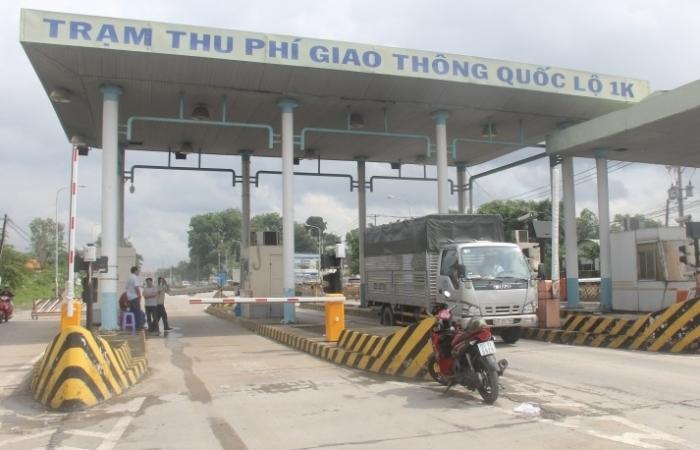 Từ 15h ngày 31/10, tạm dừng thu phí tại các Trạm thu phí thuộc Dự án cải tạo, nâng cấp Quốc lộ 1K