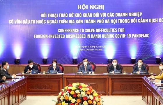 Hà Nội: Sát cánh cùng nhà đầu tư nước ngoài phục hồi sản xuất kinh doanh